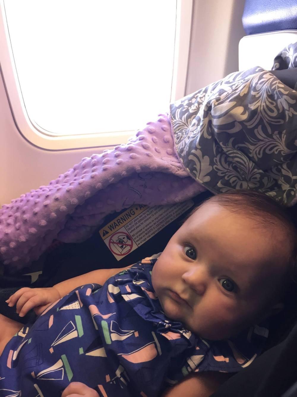 plane car seat